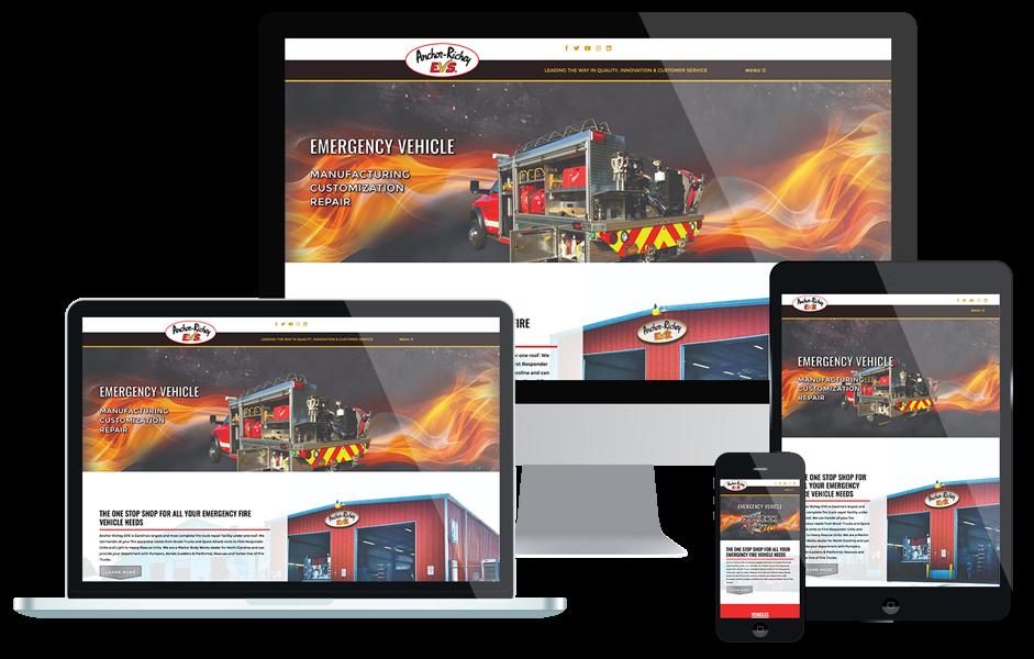 Anchor Richey Responsive Web Design