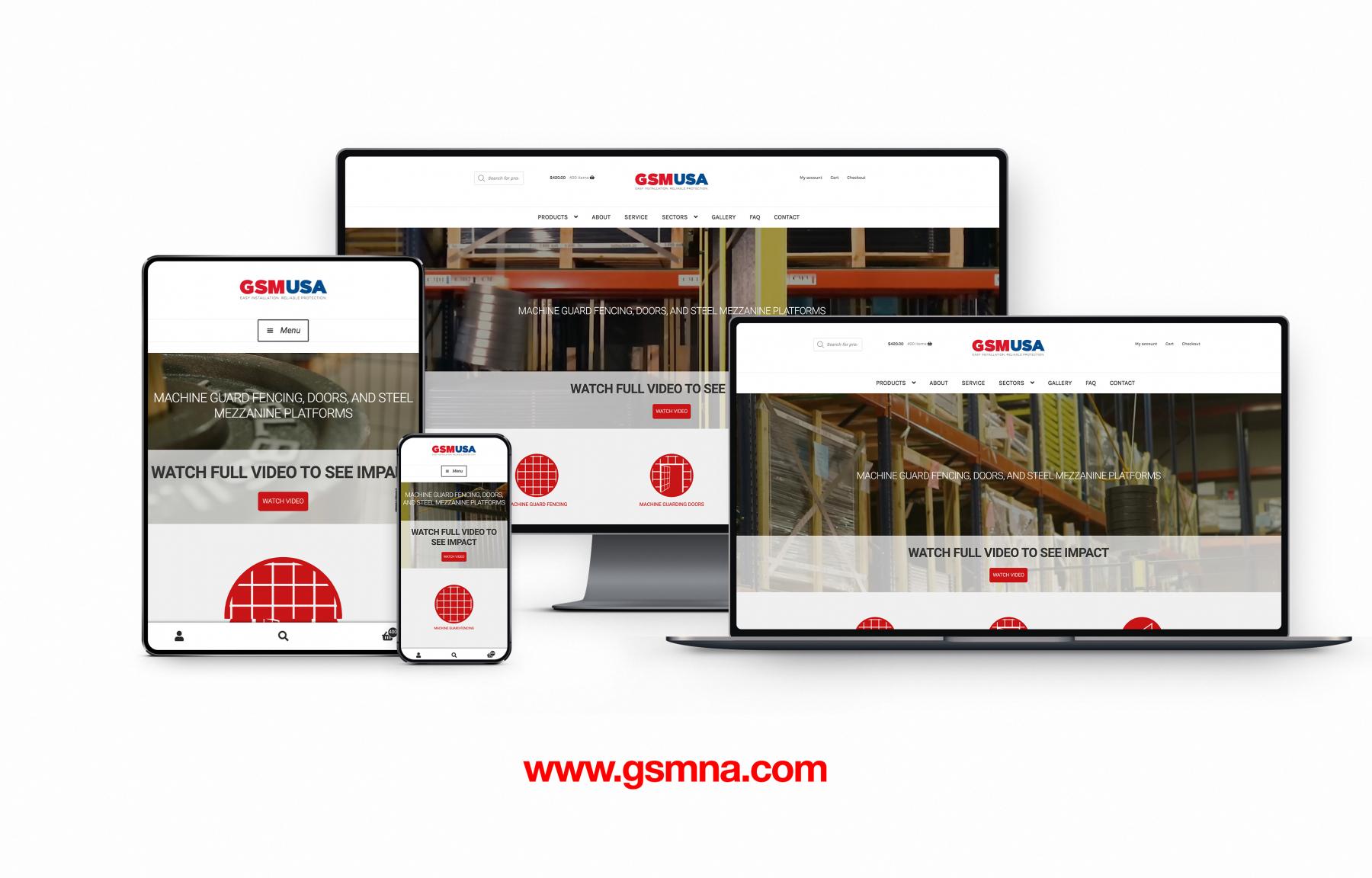 GSM Responsive Web Design