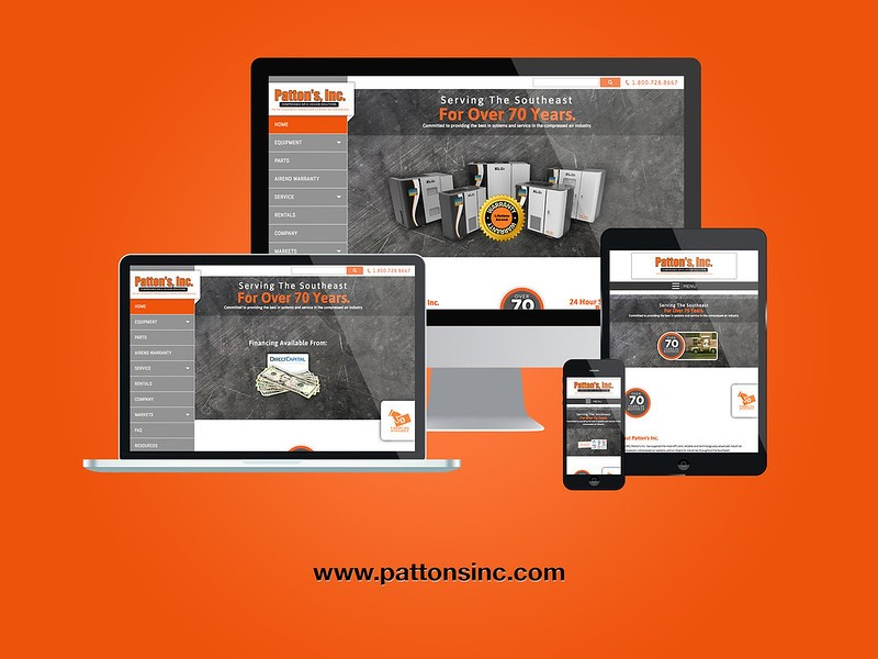 pattons-responsive-web